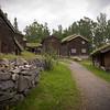 Farm houses, Maihaugen Museum - Lillehammer, Norway