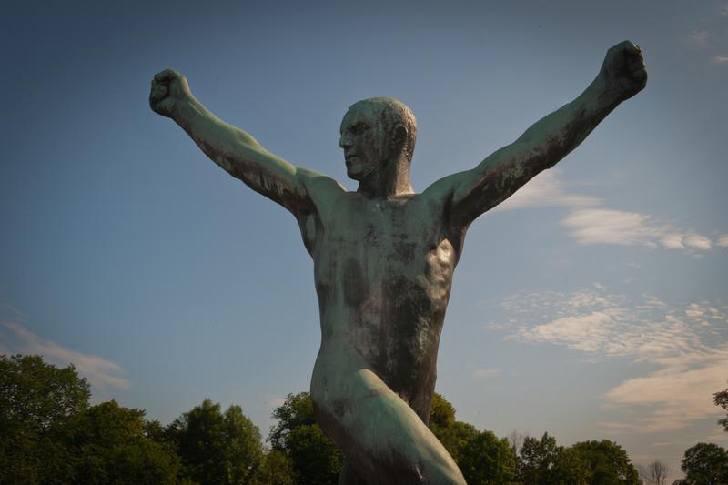 Sculpture by Gustav Vigeland