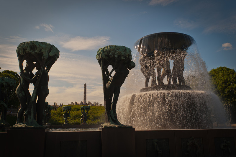 The Fountain by Gustav Vigeland
