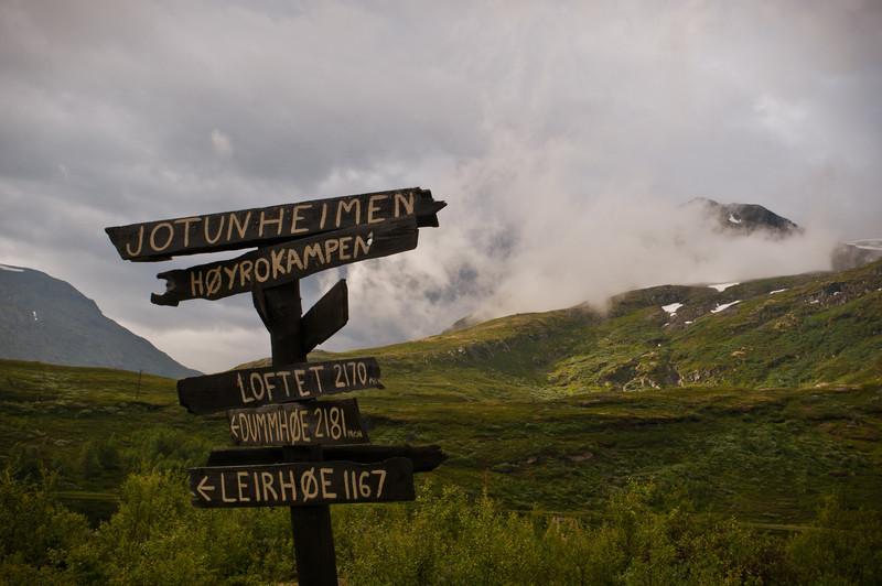Jotunheimen Mountain, Norway