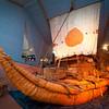 Kon-Tiki Raft by explorer - Thor Heyerdahl, Oslo