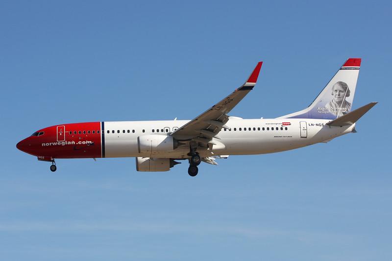 """LN-NGS Boeing 737-8JP c/n 39029 Las Palmas/GCLP/LPA 03-02-16 """"Regine Normann"""""""