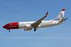 """LN-NGU Boeing 737-8JP c/n 39080 Las Palmas/GCLP/LPA 03-02-16 """"Harry S.Pettersen"""""""