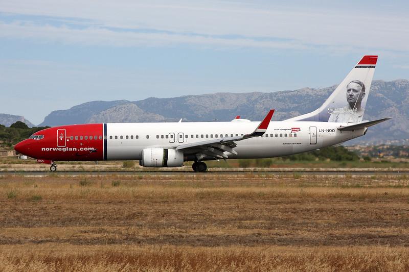 """LN-NOO Boeing 737-86Q c/n 30289 Palma/LEPA/PMI 16-06-16 """"Gustav Vigeland"""""""