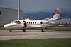 LN-AAB Cessna 550 Citation II c/n 550-0353 Glasgow/EGPF/GLA 07-06-96 (35mm slide)