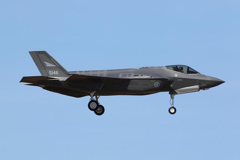 """5146 Lockheed Martin F-35A Lightning II """"Royal Norwegian Air Force"""" c/n AM-6 Luke/KLUF/LUF 31-01-18"""