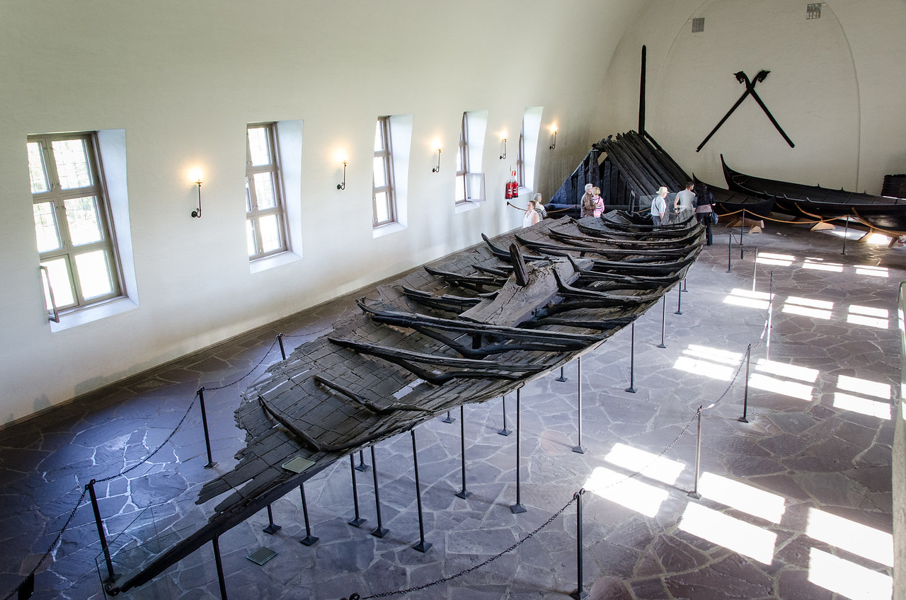The Tune ship - 900 AD.<br /> Found at the Haugen farm in Østfold, Norway.