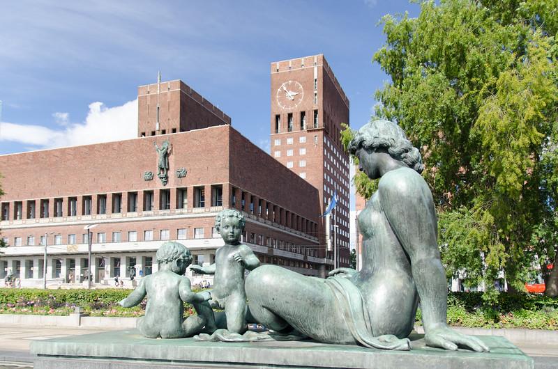 Oslo City Hall.