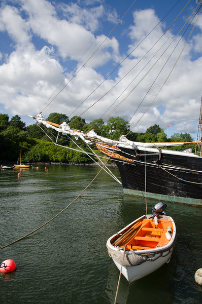 The bow of the Svanen.
