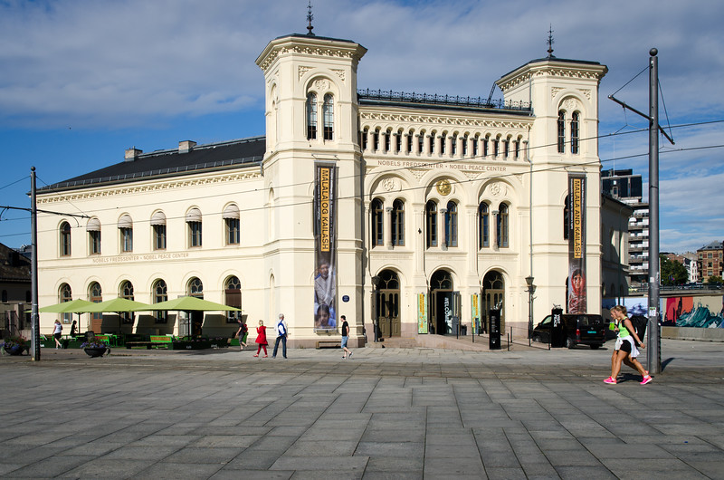 The Nobel Peace Center.