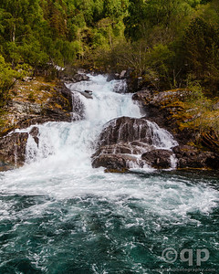 WATERFALL MEETS THE FJORD