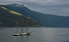 Alexander von Humboldt, from Bremen Germany -- in Balestrand, before the Tall Ships Races begin in Bergen