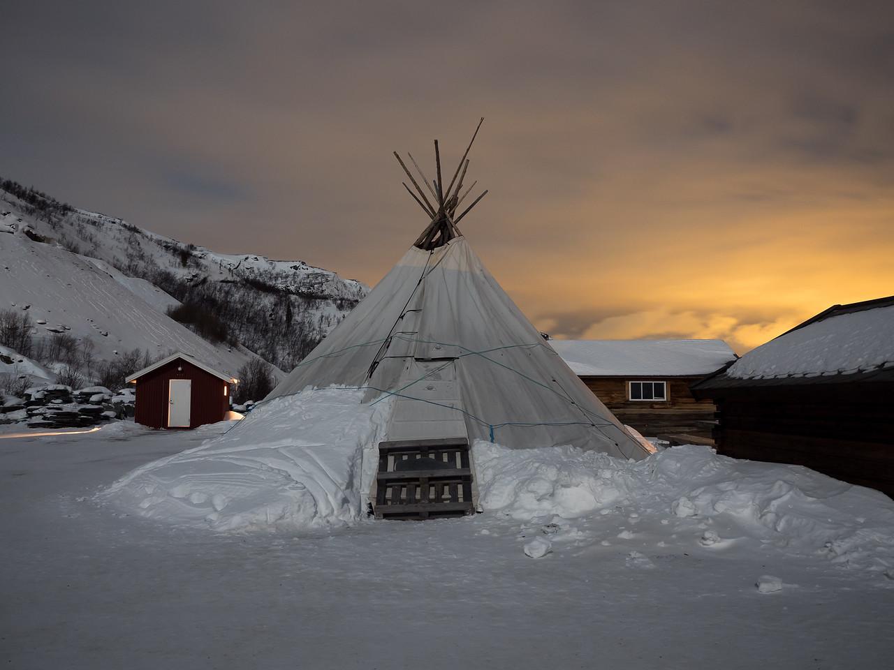 Paeskatun camp in Alta, Norway