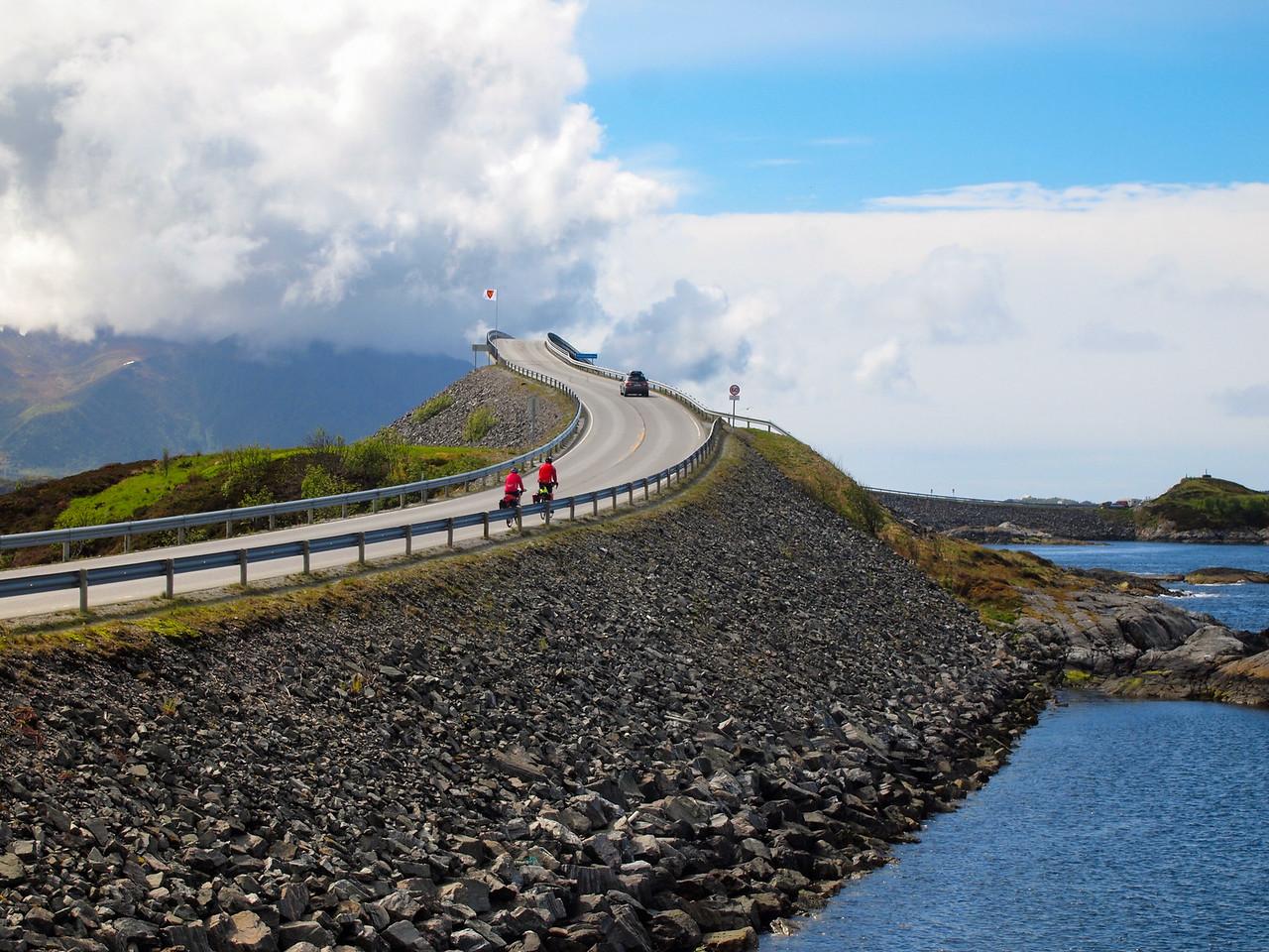 Storseisundet Bridge on the Atlantic Ocean Road