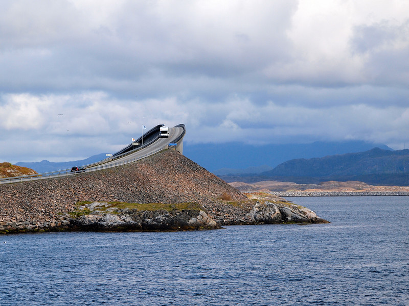 Storseisundet Bridge on the Atlantic Ocean Road