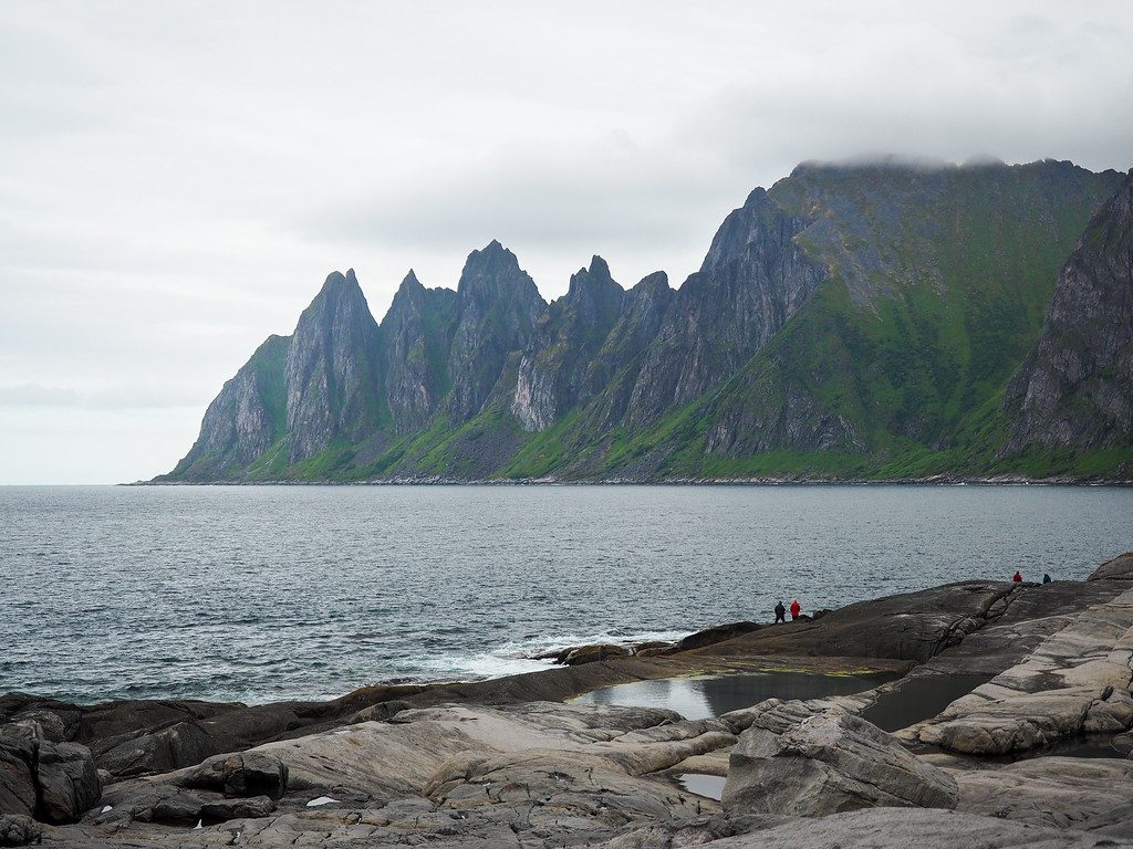 Tungeneset viewpoint on Senja