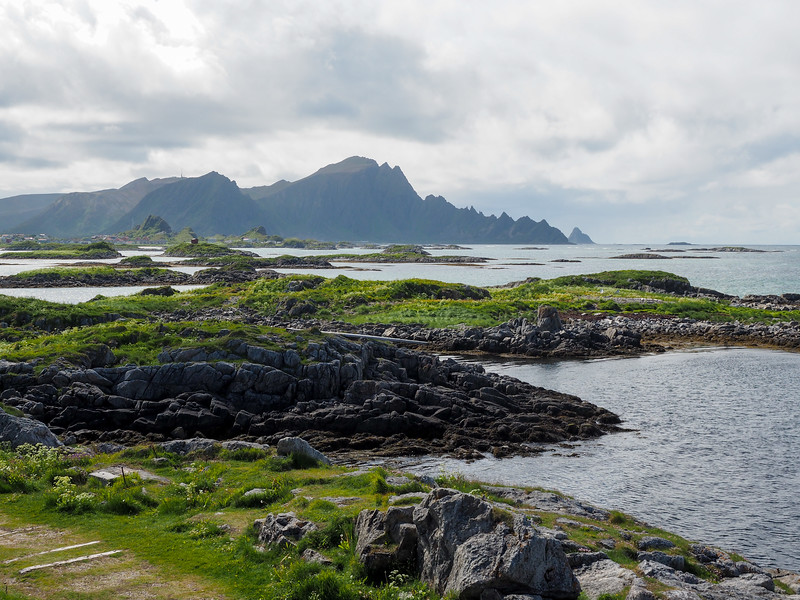 Sea views in Andenes, Norway