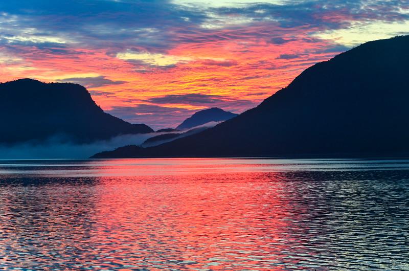 Sunset in Nordland