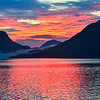 Sunset in Nordland