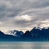 Lyngen Alps across Lyngen fjord