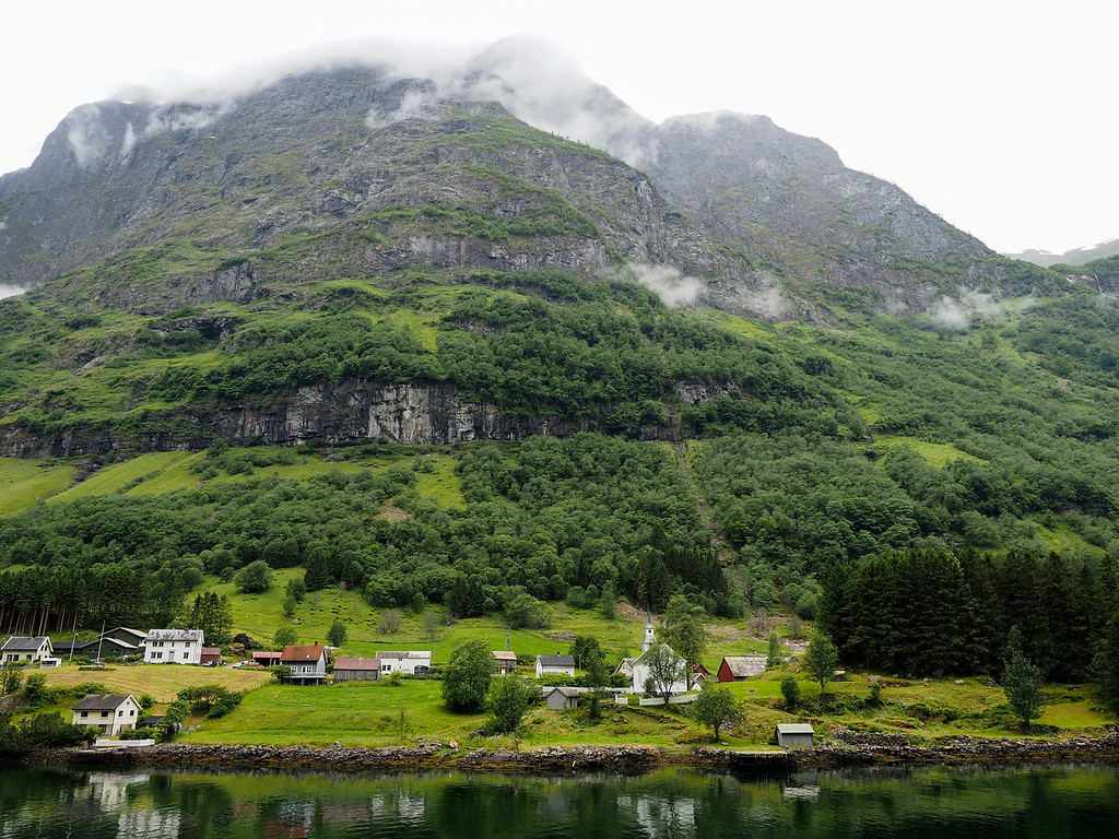 Village of Bakka on the Nærøyfjord