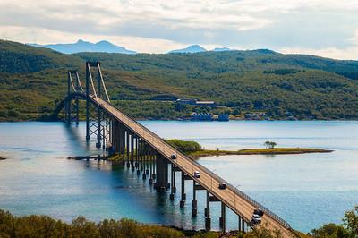 Tjeldsund Bridge, Norway