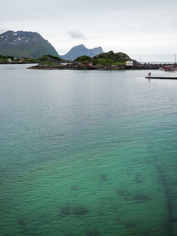 Turquoise water at Hamn i Senja