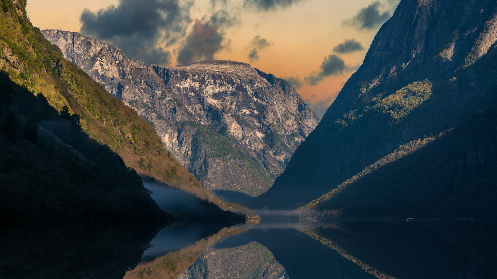 Heading into the Norwegian Fjords