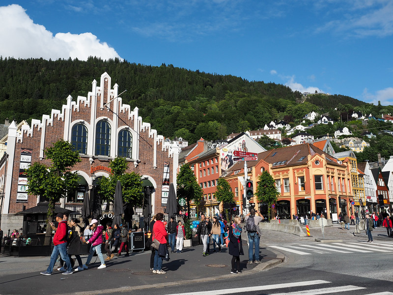 Downtown Bergen, Norway