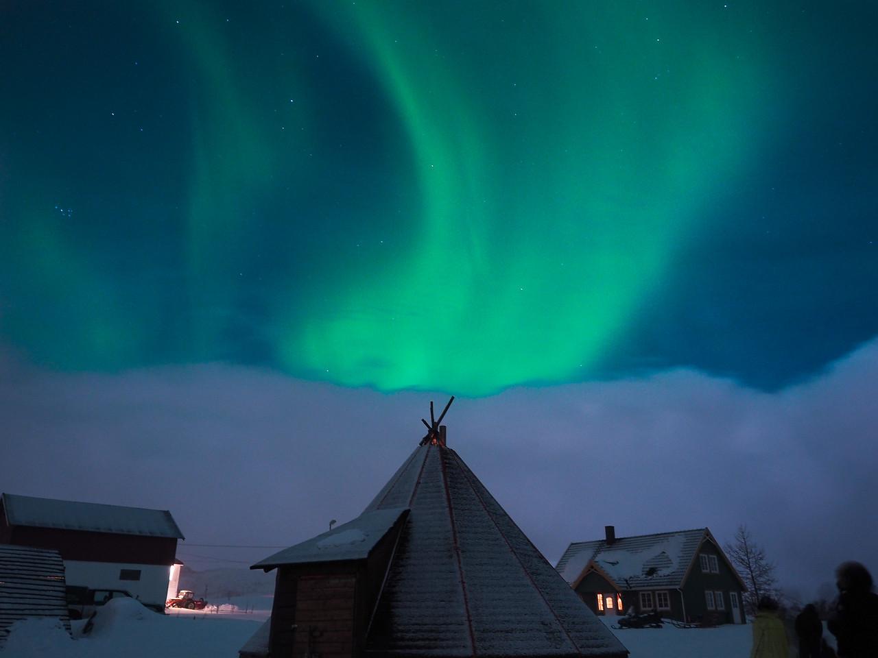 Northern Lights in Tromsø, Norway
