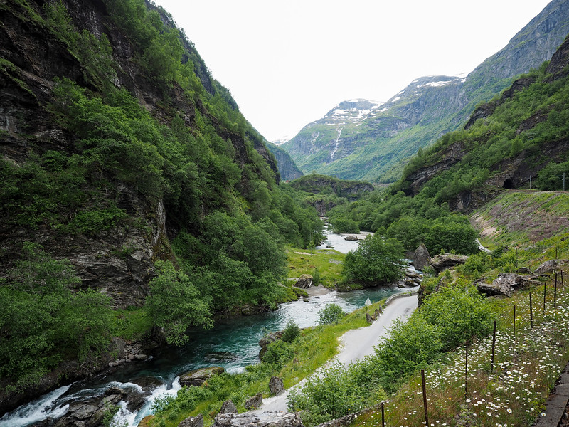 Views from the Flåm Railway