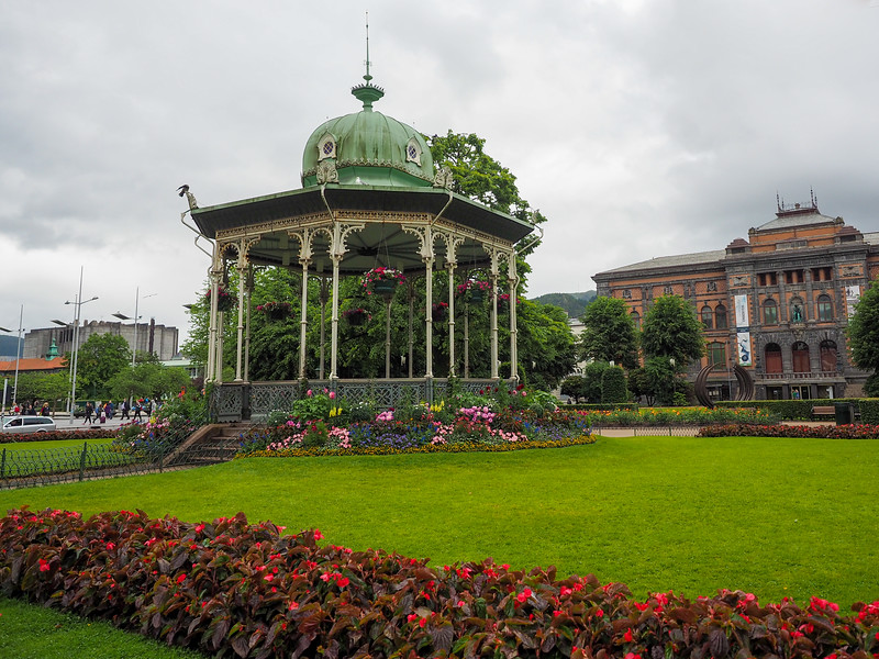 Byparken in Bergen, Norway