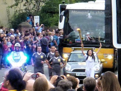 The torch!