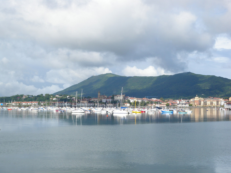 Hendaye: the small French town on the Atlantic which marks the start of the HRP.