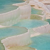 The travertine terraces