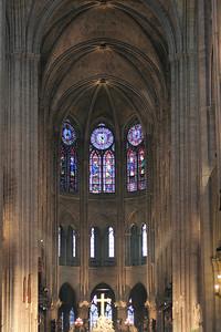 Cathédrale Notre Dame Interior