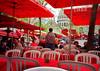 Cafe at Montmarte, Paris