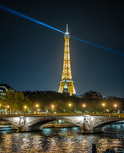 bridge across Seine & Eiffel Tower
