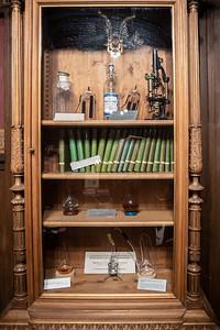 cabinet of Pasteur books & instruments Ecole Normale Superieure