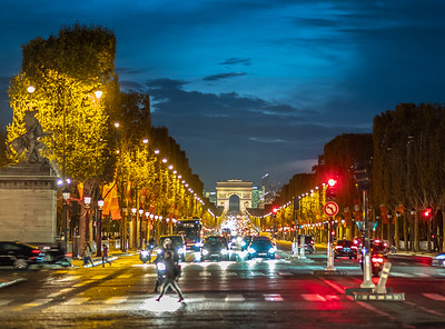 Champs Elysee from Carrousel