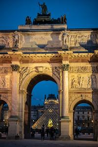 Arc de Triomphe du Carrousel Louvre Arch