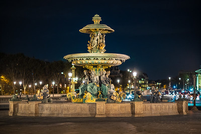 fountain near Tuileries