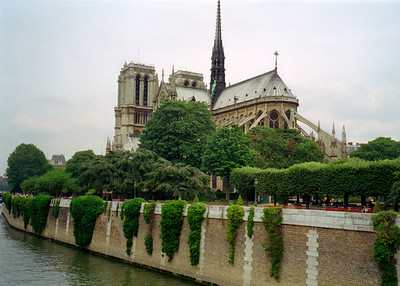 The Rear of Notre Dame Cathedral