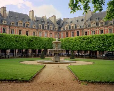 Place des Vosges in the Marais section of Paris
