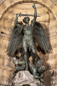 Archangel Michael & the Devil