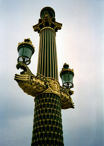 Paris Street Light Post