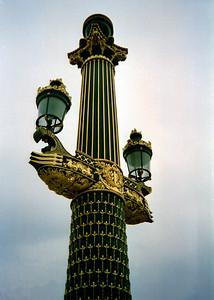 Paris Street Light Post