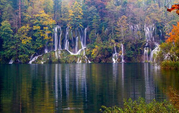 Plitvice (Plitvička) Waterfalls, Croatia