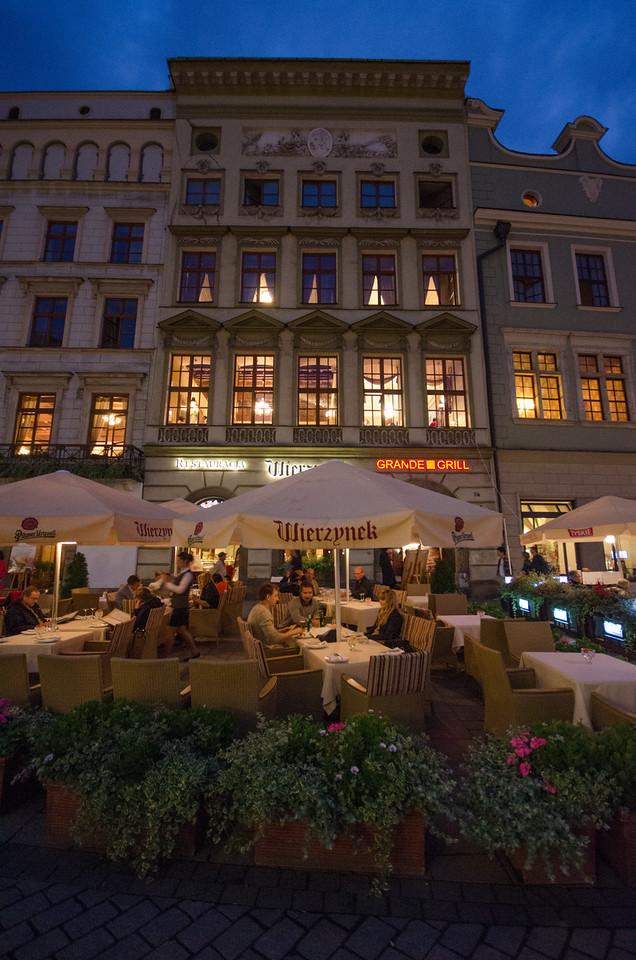Wierzynek Restaurant dates to 1364.