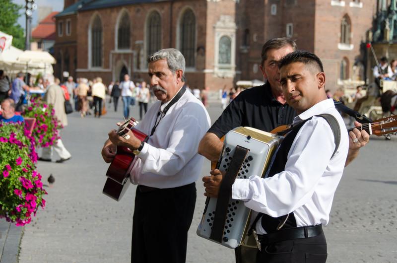 Musicians, Main Market Square.